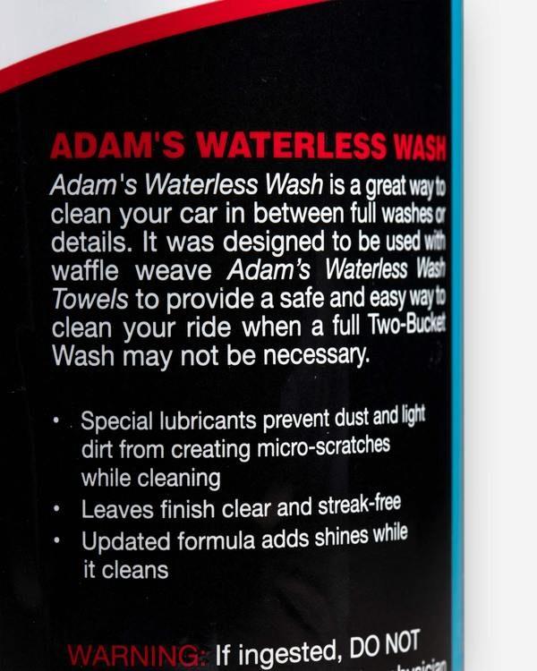 Adams Waterless Wash