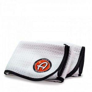 Adam's Great White Microfiber Drying Towel 2 Pack