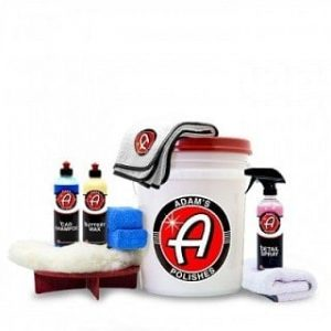 Adam's Basic Car Wash & Wax Kit
