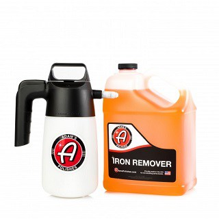 Adam's Iron Remover Gallon & IK Sprayer Combo