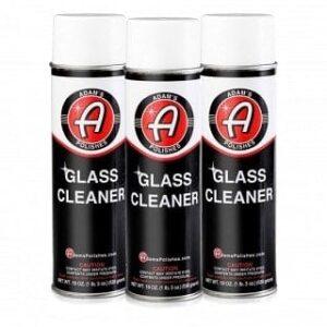 Adam's NEW Aerosol Glass Cleaner 3pk