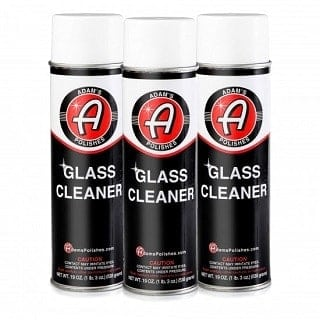 Adam's Aerosol Glass Cleaner