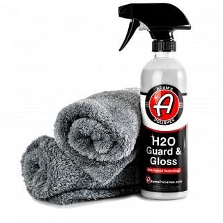ADAM'S NEW BASIC H2O GUARD & GLOSS KIT