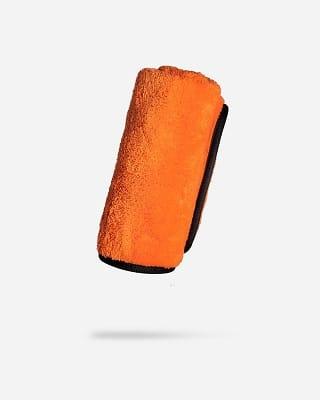 Adam's Plush Orange Microfiber Towel