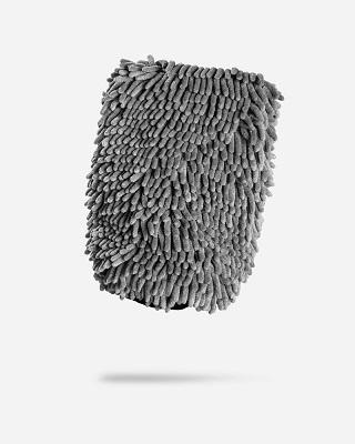 Adam's Gray Microfiber Wash Mitt